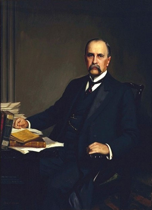 William Osler (1849-1919) de 1905 por Thomas Corner (1865-1938)