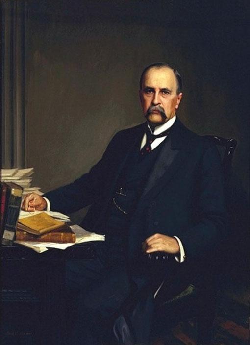 William Osler (1849-1919) de 1905 por Thomas Corner (1865-1938)