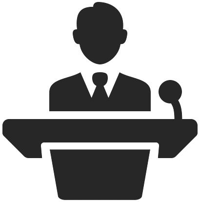 Palestras e apresentações