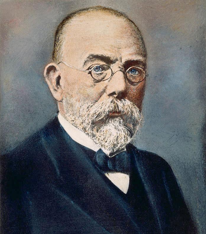 Robert Koch (1843-1910) por Charles Granger (1812-1893)