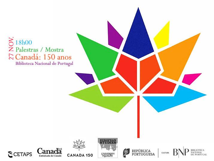 Palestras / Mostra: Canadá 150 anos | 27 nov. | 18h00 | BNP