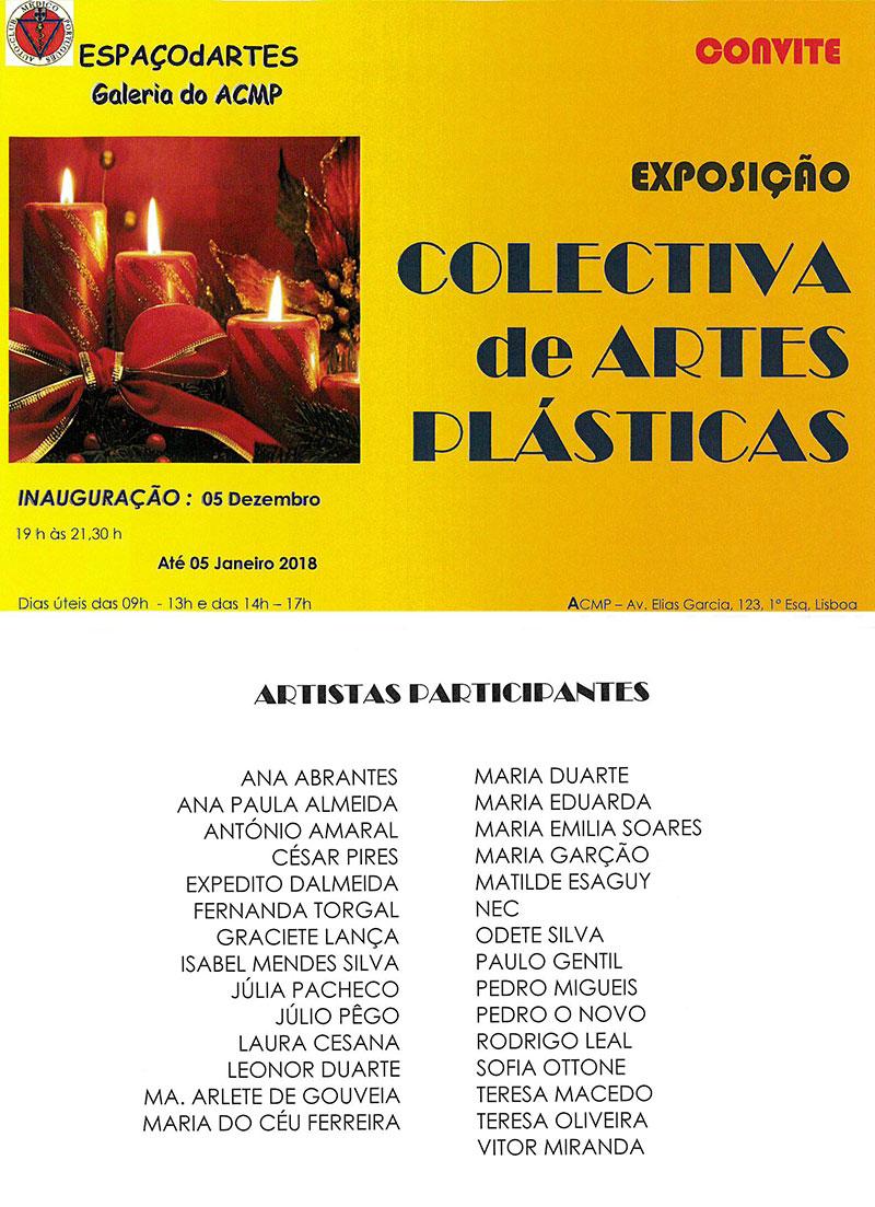 Exposição COLECTIVA de ARTES PLÁSTICAS