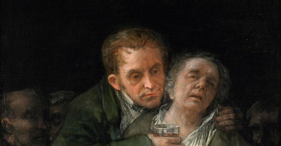 """""""Auto-Retrato com o Doutor Arrieta"""""""