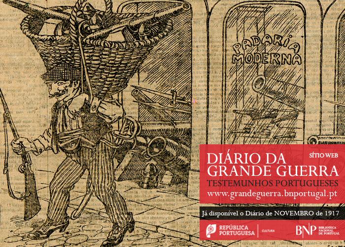Diário da Grande Guerra: testemunhos portugueses | novembro de 1917