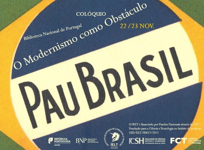 Colóquio   O Modernismo como Obstáculo   22 - 23 nov.   BNP   Entrada livre com inscrições