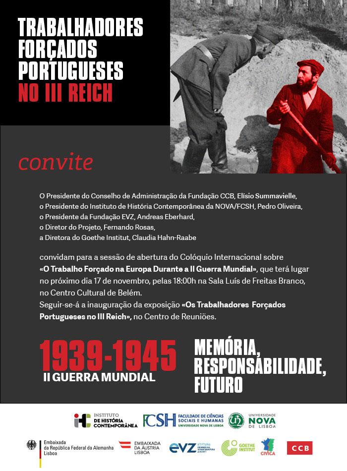 Os Trabalhadores Forçados Portugueses no III Reich