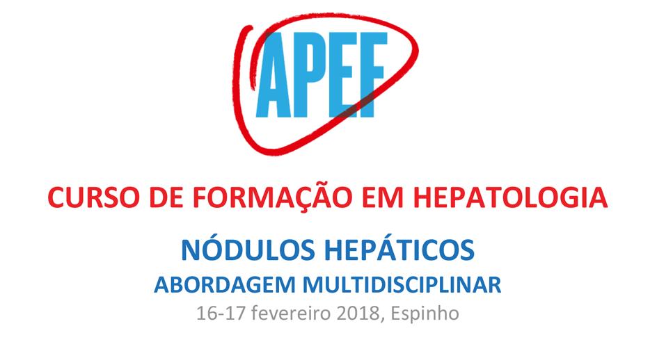 Curso de Formação em Hepatologia: Nódulos hepáticos - abordagem multidisciplinar