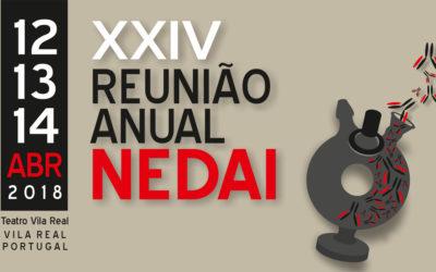 XXIV – Reunião Anual NEDAI – 12,13 e 14 de Abril de 2018 – Submissão de Abstracts NEDAI 2018