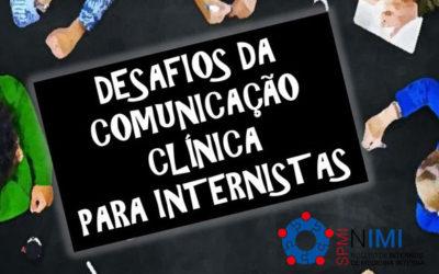 Curso Desafios da Comunicação Clínica para Internistas – Inscrições Abertas