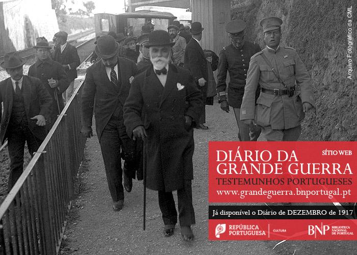 Diário da Grande Guerra: testemunhos portugueses | dezembro de 1917