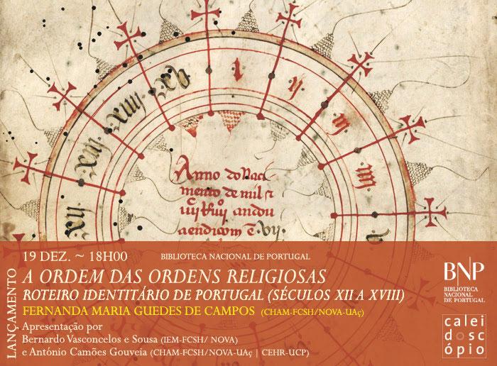A ordem das ordens religiosas: roteiro identitário de Portugal (séculos XII-XVIII)