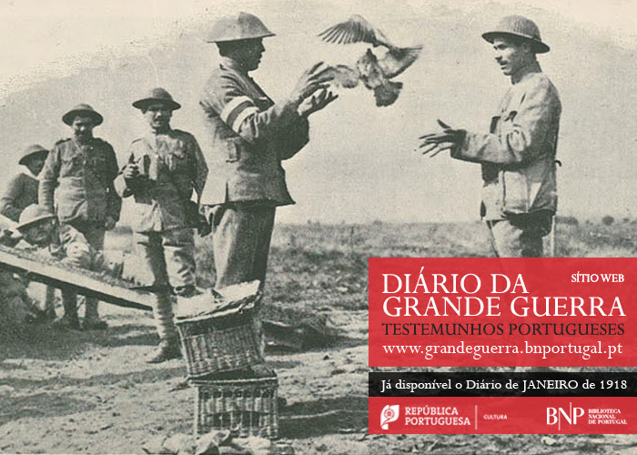 Sítio Web   Diário da Grande Guerra: testemunhos portugueses   janeiro de 1918