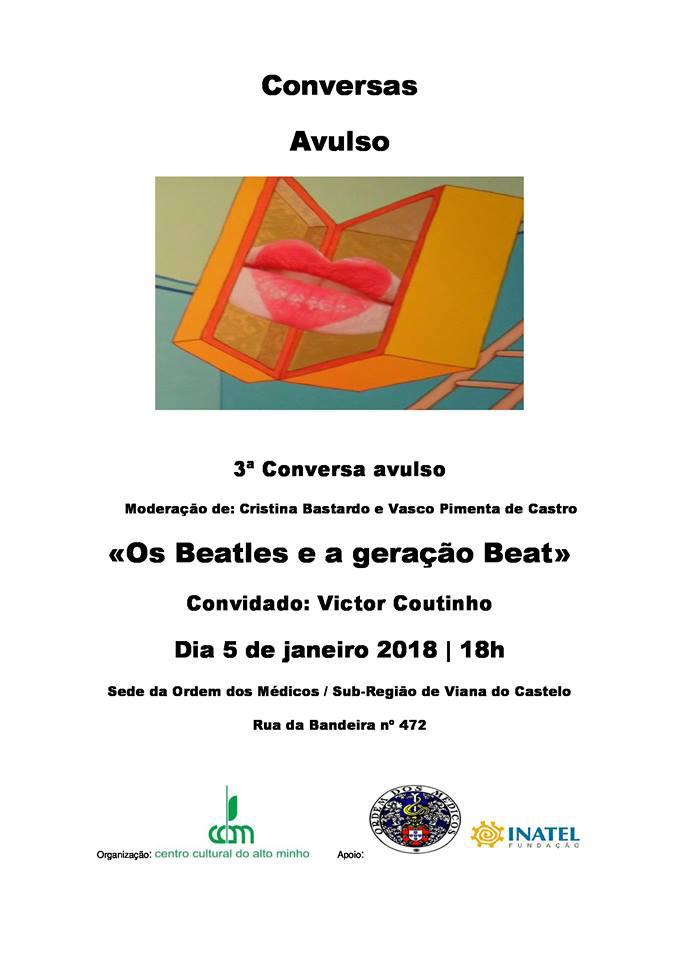 """Conversas Avulso """"Os Beatles e a Geração Beat"""""""