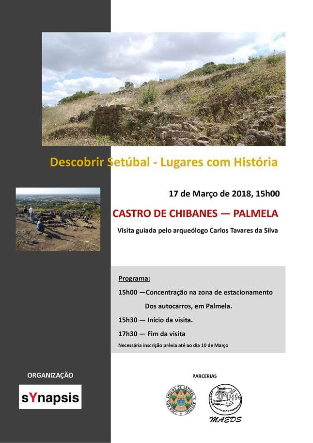 Synapsis convida - Visita guiada ao Castro de Chibanes - 17 Março, 15h00