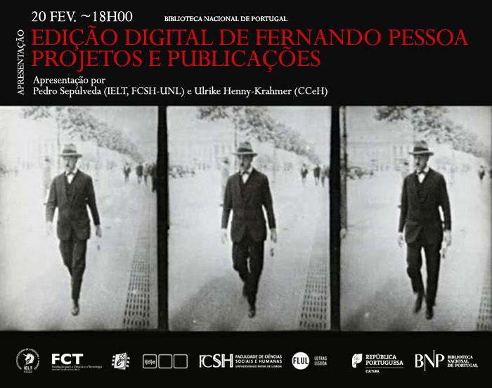 Edição Digital de Fernando Pessoa: Projetos e Publicações