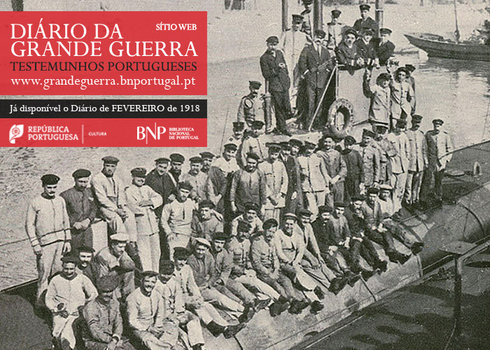 Sítio Web | Diário da Grande Guerra: testemunhos portugueses | fevereiro de 1918
