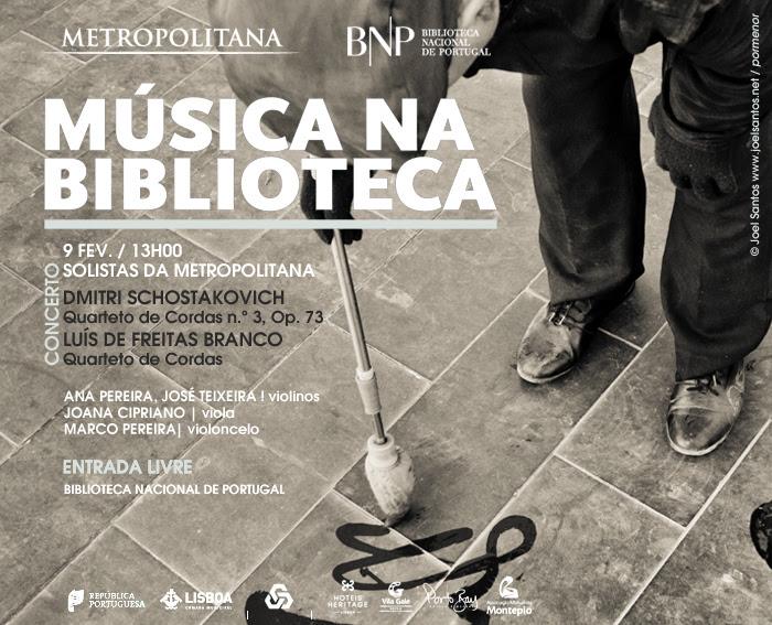 Música na Biblioteca - Solistas da Orquestra Metropolitana de Lisboa