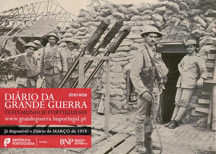 Sítio Web | Diário da Grande Guerra: testemunhos portugueses | março de 1918