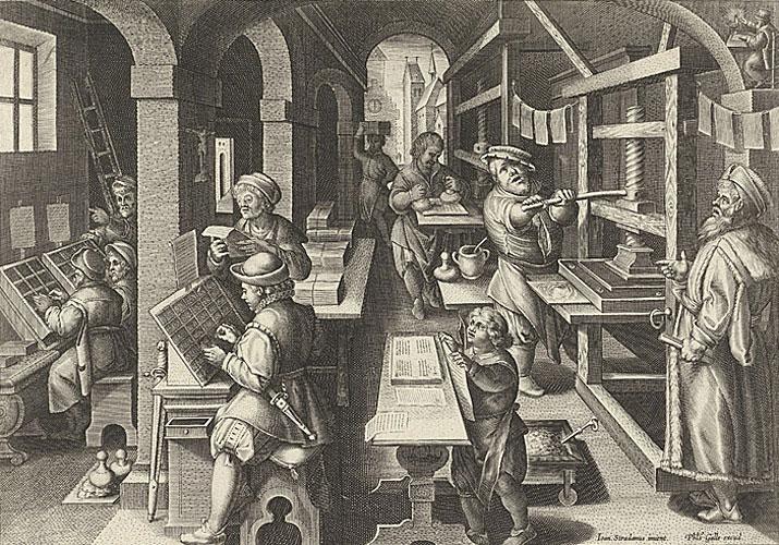 «Impressio Librorum», Antuérpia, ca 1591 (BNP E.A. 15//4 P.)