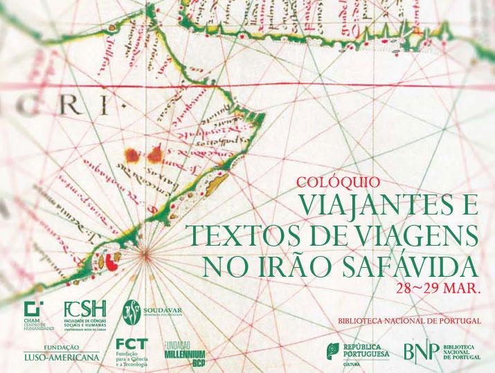 Colóquio | Viajantes e textos de viagens no Irão Safávida | 28-29 mar. | BNP
