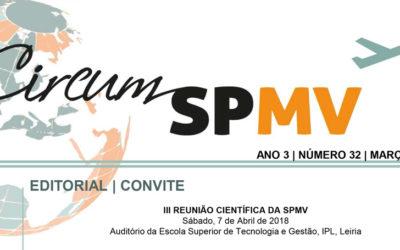 Newsletter da Sociedade Portuguesa de Medicina do Viajante – março 2018