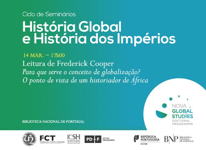 Ciclo de Seminários | História Global e História dos Impérios | 14 mar. | 17h00 | BNP