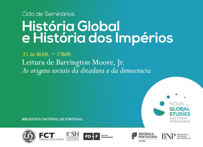 Ciclo de Seminários | História Global e História dos Impérios | 21 mar. | 17h00 | BNP