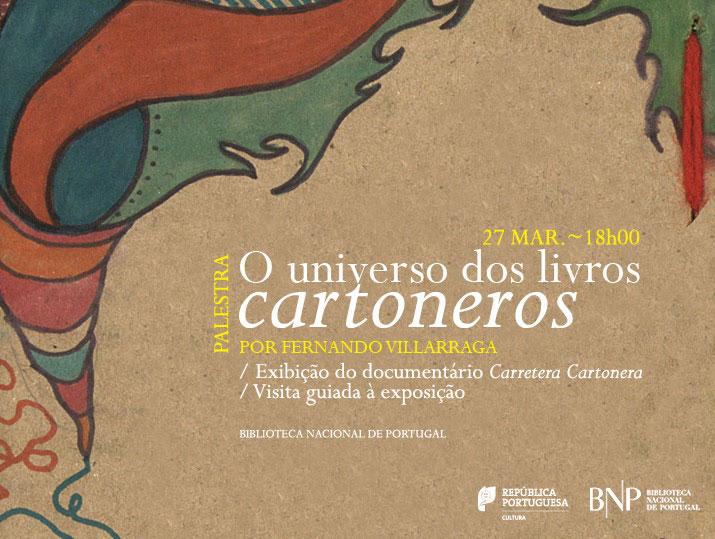 Palestra | O universo dos livros «cartoneros» | 27 mar. | 18h00 | BNP