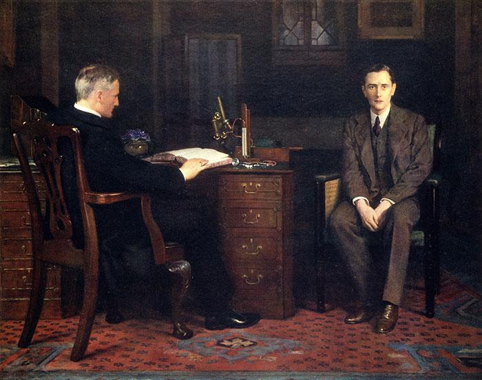 """""""Sentença de Morte"""" de 1908, por John Collier, 1950-1934"""