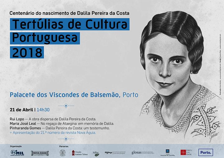 Tertúlias de Cultura Portuguesa 2018