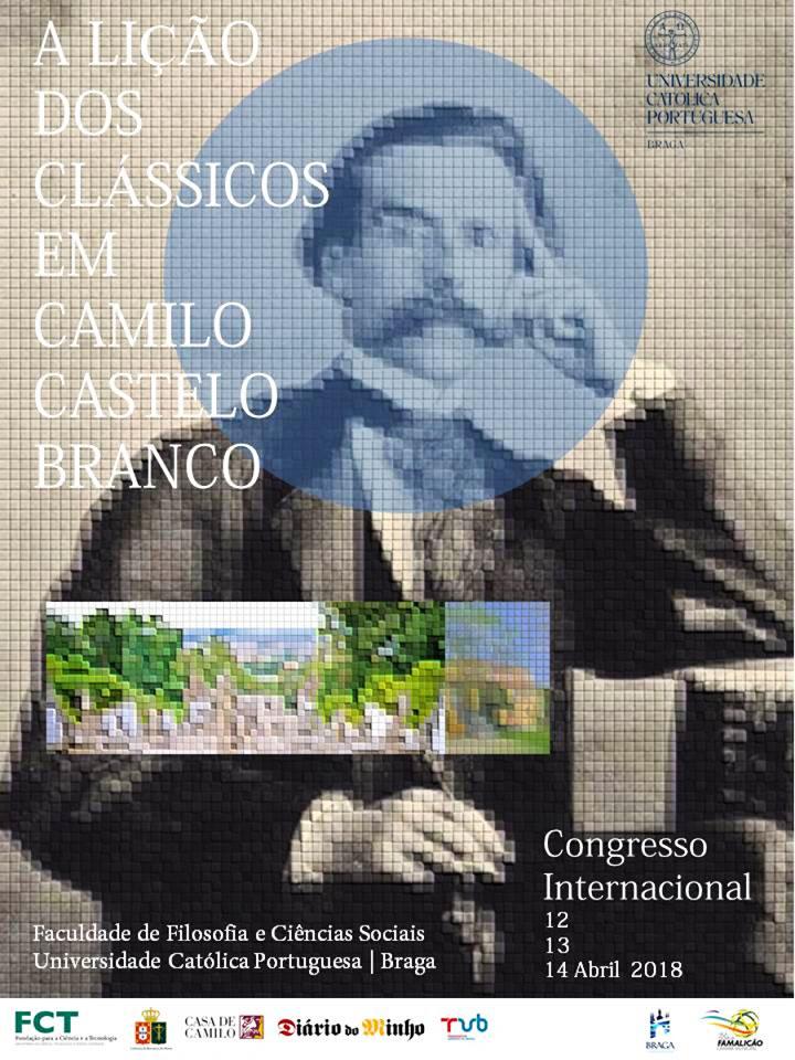 """Congresso Internacional """"A Lição dos Clássicos em Camilo Castelo Branco"""", 2018"""