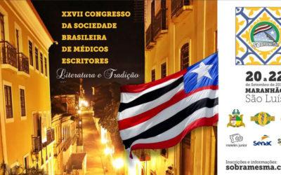 XXVII – Congresso da Sociedade Brasileira de Médicos Escritores