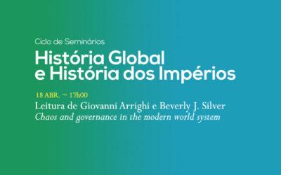 Ciclo de Seminários | História Global e História dos Impérios | 18 abr. | 17h00 | BNP