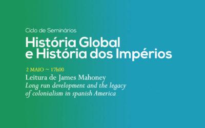 Ciclo de Seminários | História Global e História dos Impérios | 2 maio | 17h00 | BNP