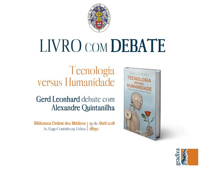 Livro com Debate - Tecnologia versus Humanidade