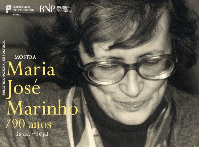 Mostra | Maria José Marinho: 90 anos | 26 abr. - 16 jul. | BNP