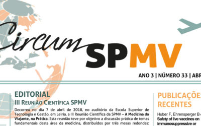 Newsletter da Sociedade Portuguesa de Medicina do Viajante – abril 2018