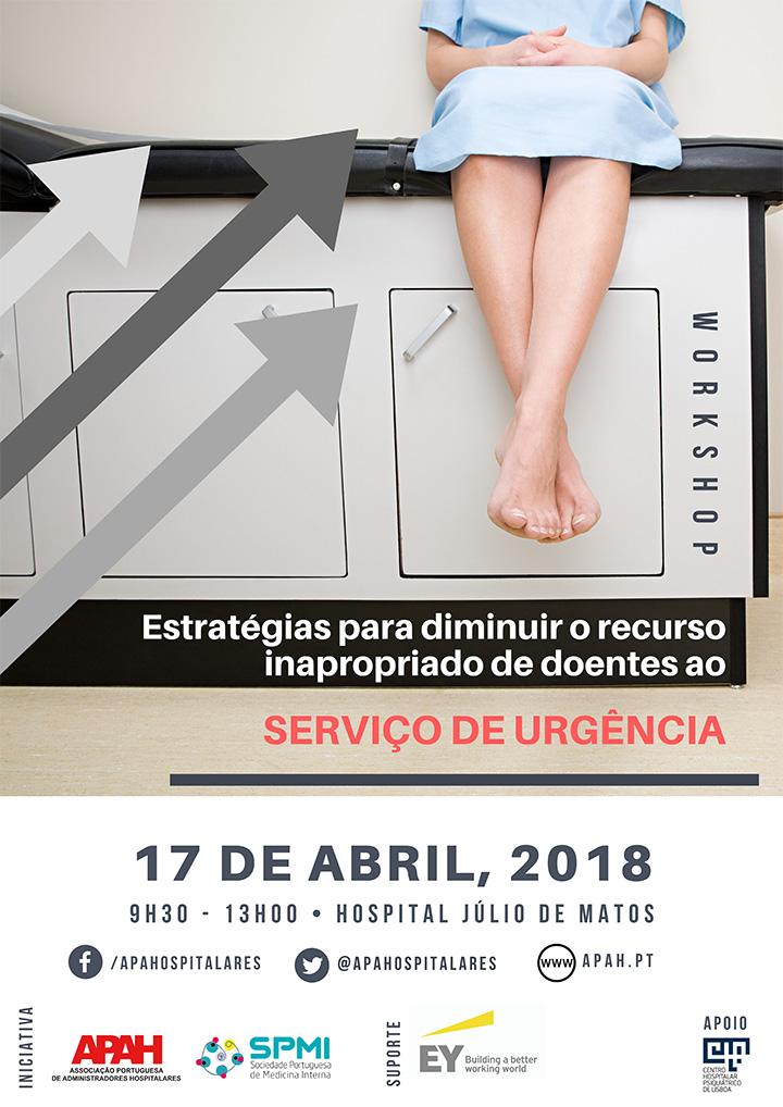 Workshop: Estratégias para diminuir o recurso inapropriado de doentes ao Serviço de Urgência