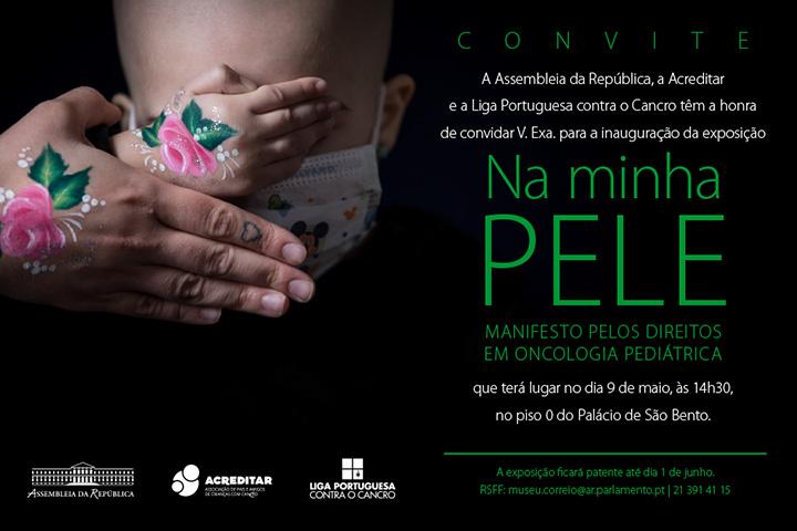 Exposição NA MINHA PELE - Manifesto pelos Direitos em Oncologia Pediátrica