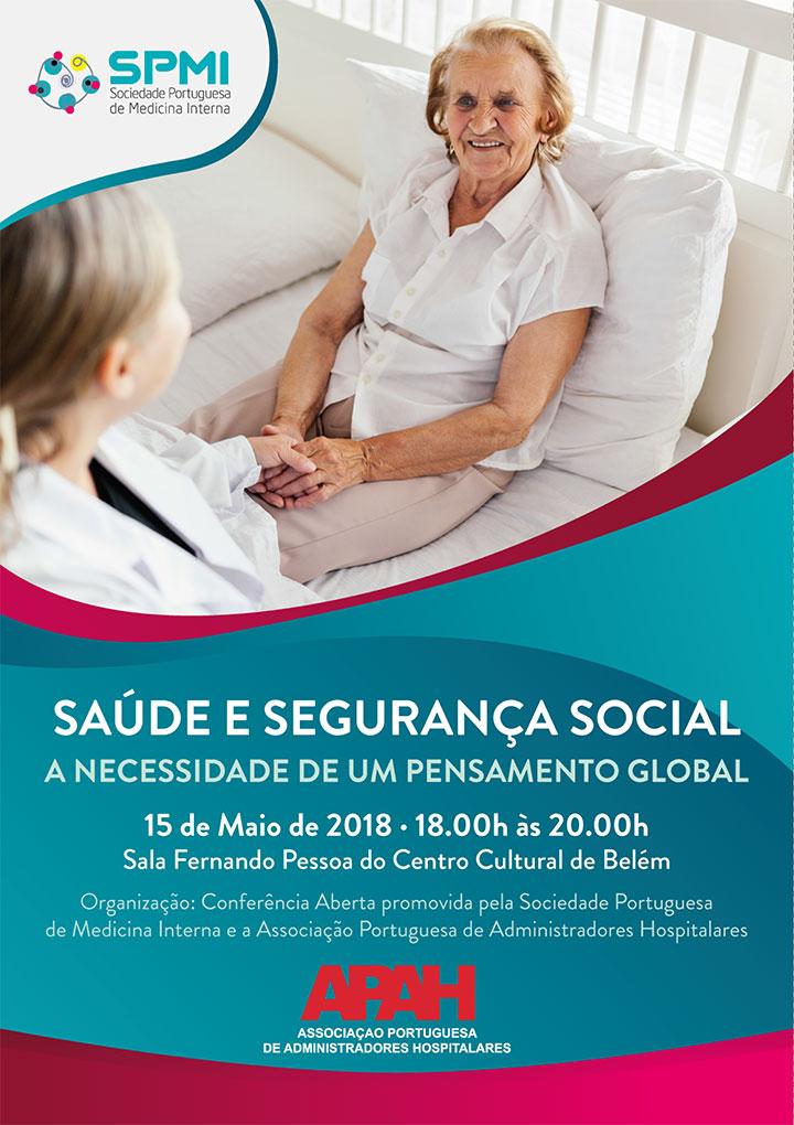 A SPMI vai transmitir em direto através do Facebook Live a Conferência: Saúde e Segurança Social