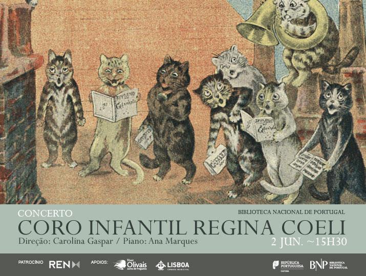 Concerto | Coro Infantil Regina Coeli | 2 jun. | 15h30 | BNP | Entrada livre