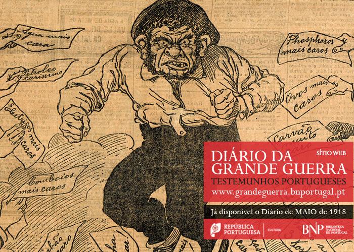 Sítio Web | Diário da Grande Guerra: testemunhos portugueses | maio de 1918