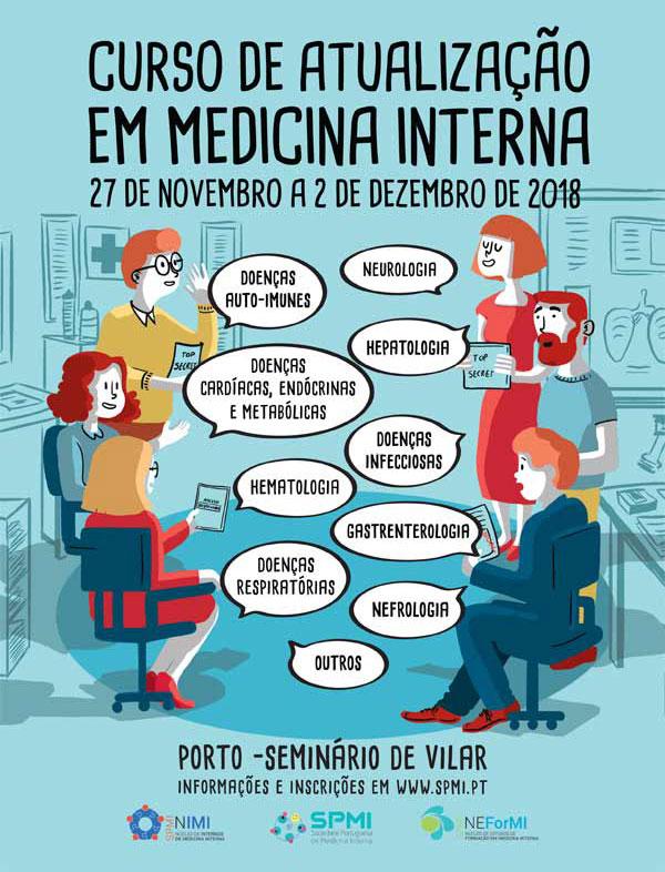 Curso de Atualização em Medicina Interna - Inscrições abertas