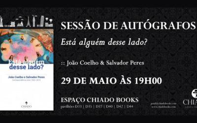 88ª Feira do Livro – Está alguém desse lado? – Sessão de Autógrafos com João Coelho & Salvador Peres