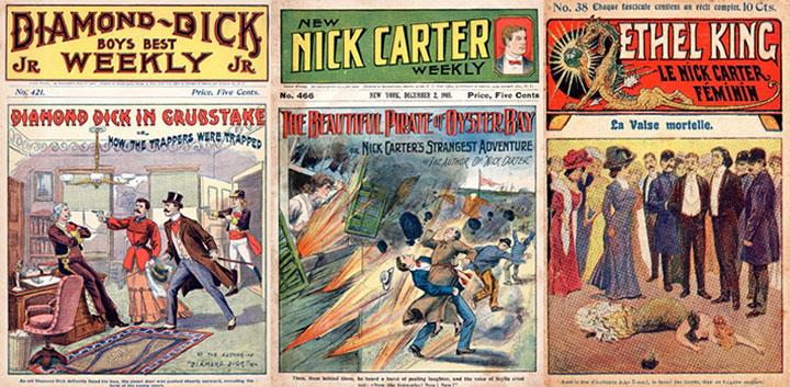 Duas edições de grande sucesso nos E.U.A., com mais de 400 episódios publicados cada. Ethel King seria conhecida entre nós como Eva Nina.