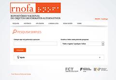 RNOFA: Repositório Nacional de Objetos em Formatos Alternativos