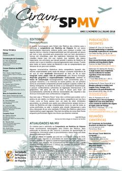 Newsletter da Sociedade Portuguesa de Medicina do Viajante – julho 2018