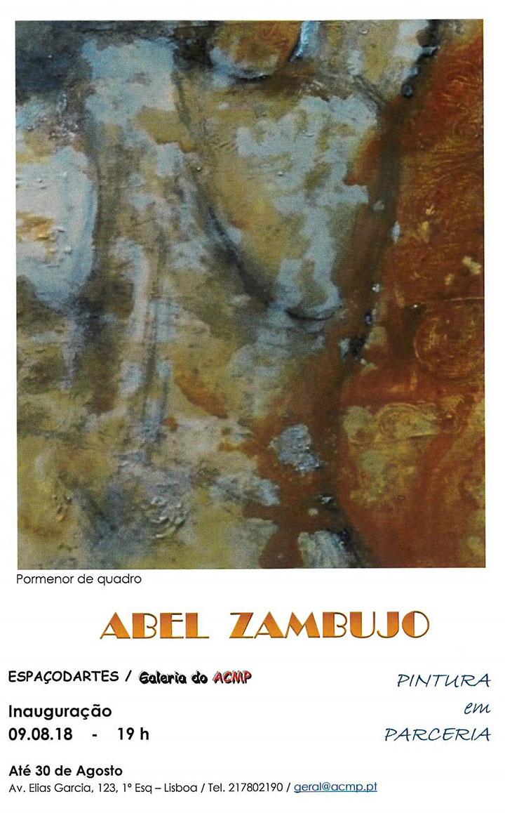 Pintura em Parceria - CARLA BOTICA e ABEL ZAMBUJO