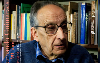 Mostra: Fernando Guimarães: 90 anos | 25 jul. | 18h00 | BNP