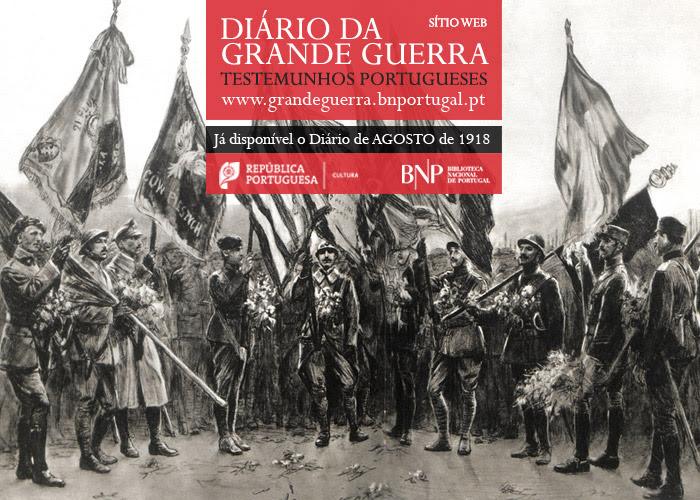 Sítio Web   Diário da Grande Guerra: testemunhos portugueses   agosto de 1918